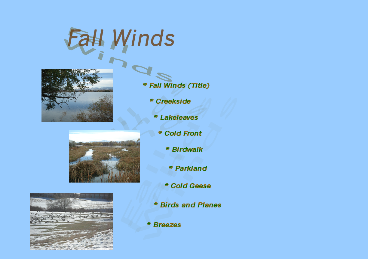 Fall Winds
